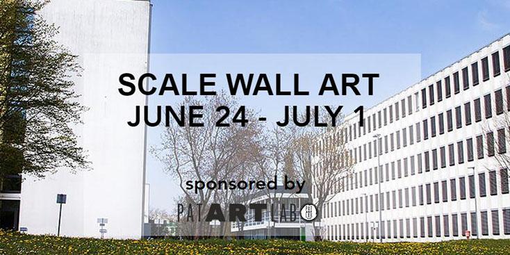 SCALE WALL ART - Siemens Campus Munich