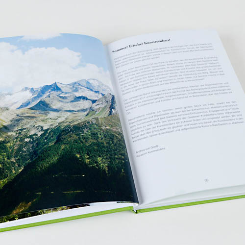 Kunstresidenz Bad Gastein - Stipendiaten 2011 - Book | 96 pages, Hardcover, 15 x 21,5 x 1,3 cm | Publisher:VGS ART (25. Oktober 2011) | Language: german | ISBN-13:978-3-00-036083-1