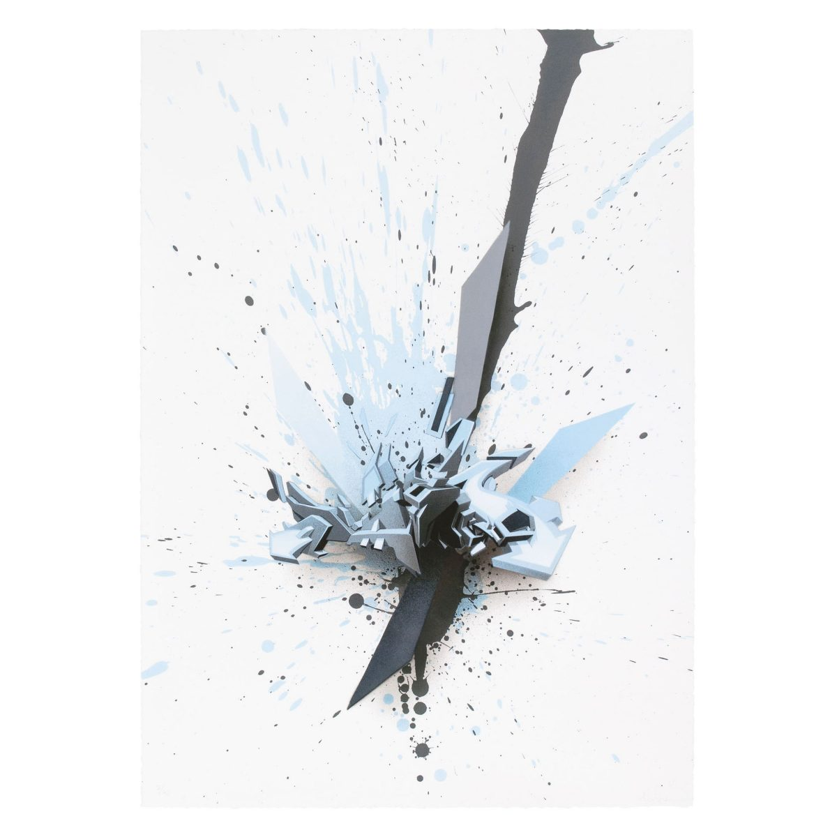 "Mirko Reisser (DAIM) | ""DAIM - all direction - the cold explosion - Serie 5"" 