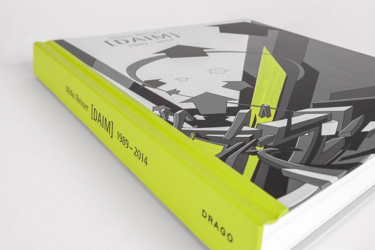Book: Mirko Reisser (Ed.), Rik Reinking, Johannes Stahl, Belinda Grace Gardner, Arne Rautenberg: ''Mirko Reisser (DAIM) 1989 – 2014.'' 1st. Ed., Drago Media Kompany, Italy (2014) ISBN 978-88-98565-01-6. | © Mirko Reisser (DAIM) / DRAGO