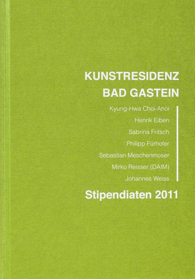 Andrea von Goetz: Kunstresidenz Bad Gastein: Stipendiaten 2011. (In German). 1st ed., VGS Art, Hamburg, Germany (2011). ISBN 978-3-00-036083-1.